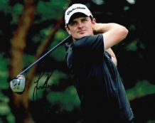 Justin Rose Autograph Signed Photo